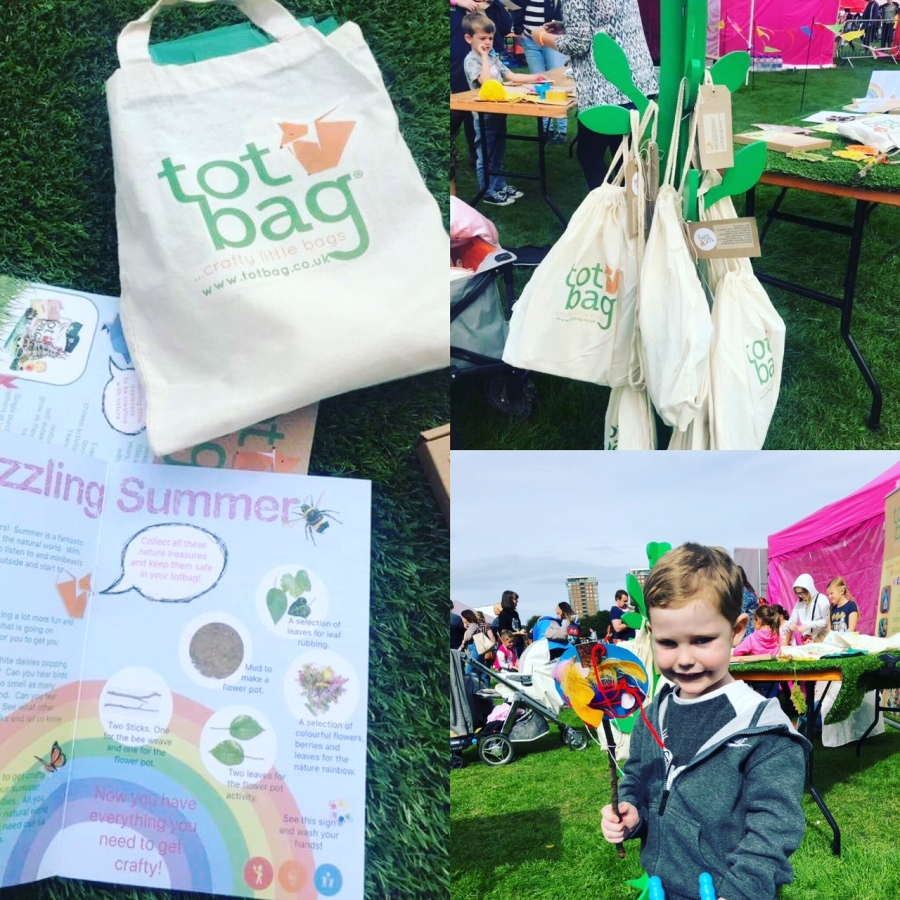 Spotlight on: Claire from Totbag UK